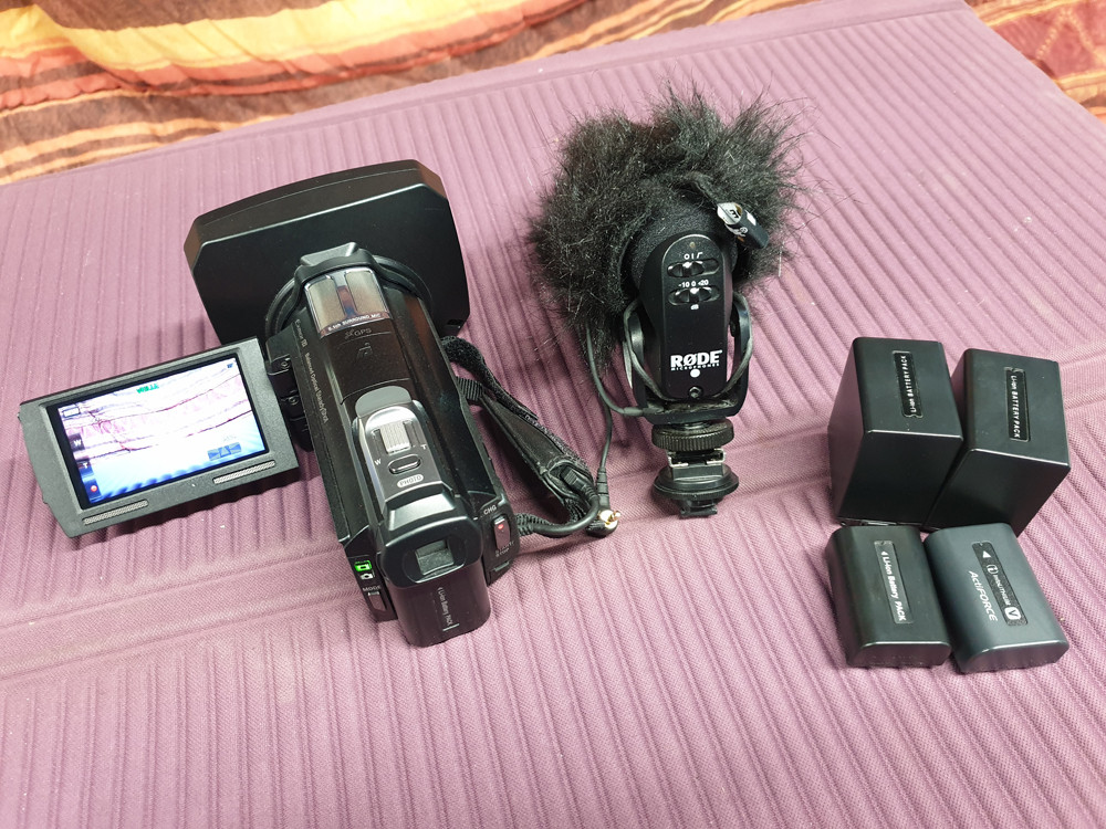 CAMESCOPE SONY HDR-CX740