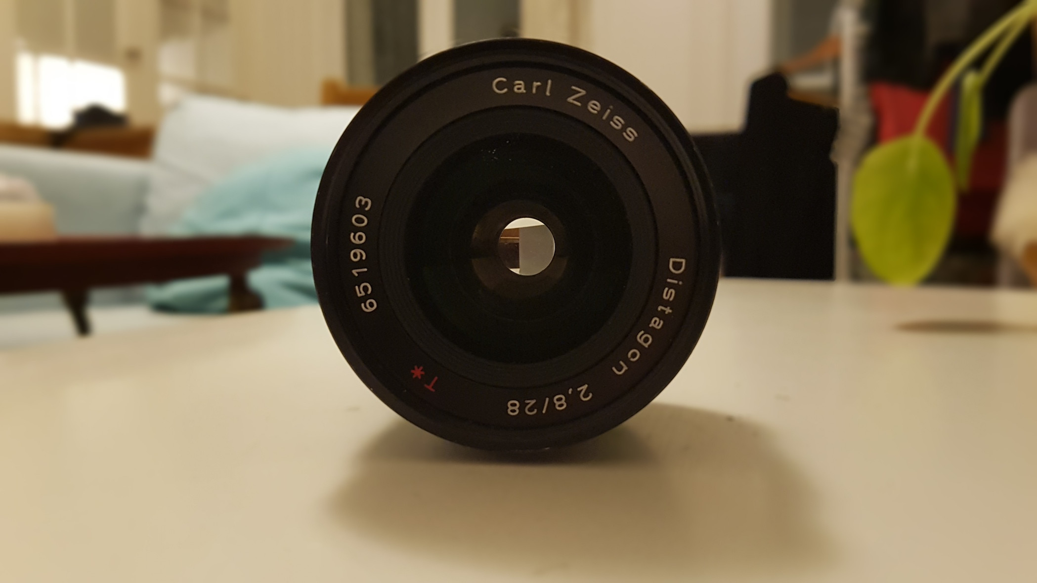 Objectif Contax Zeiss 28mm f2,8