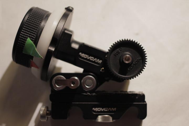 Follow focus Movcam