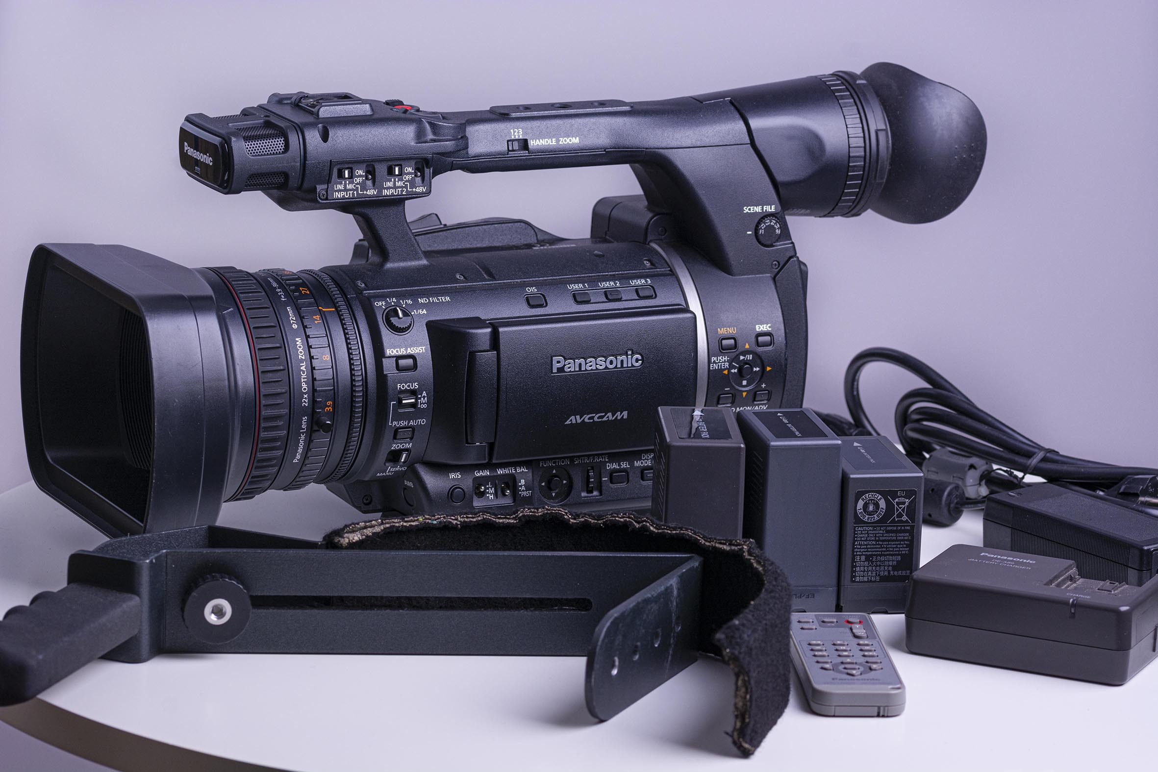 Pro-HD-Camcorder Panasonic AG-AC 160