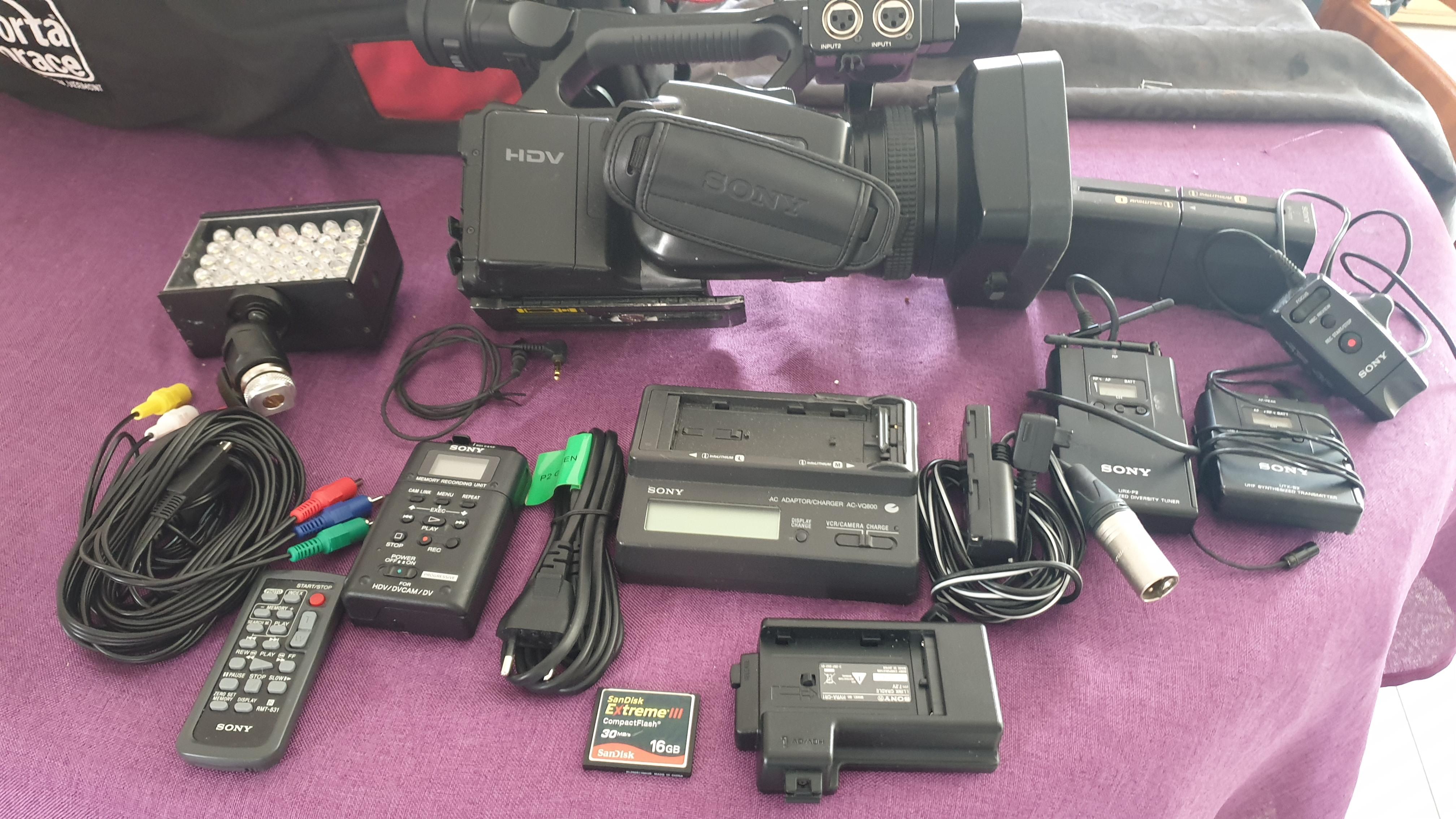 Camera video sony HVR-Z7E