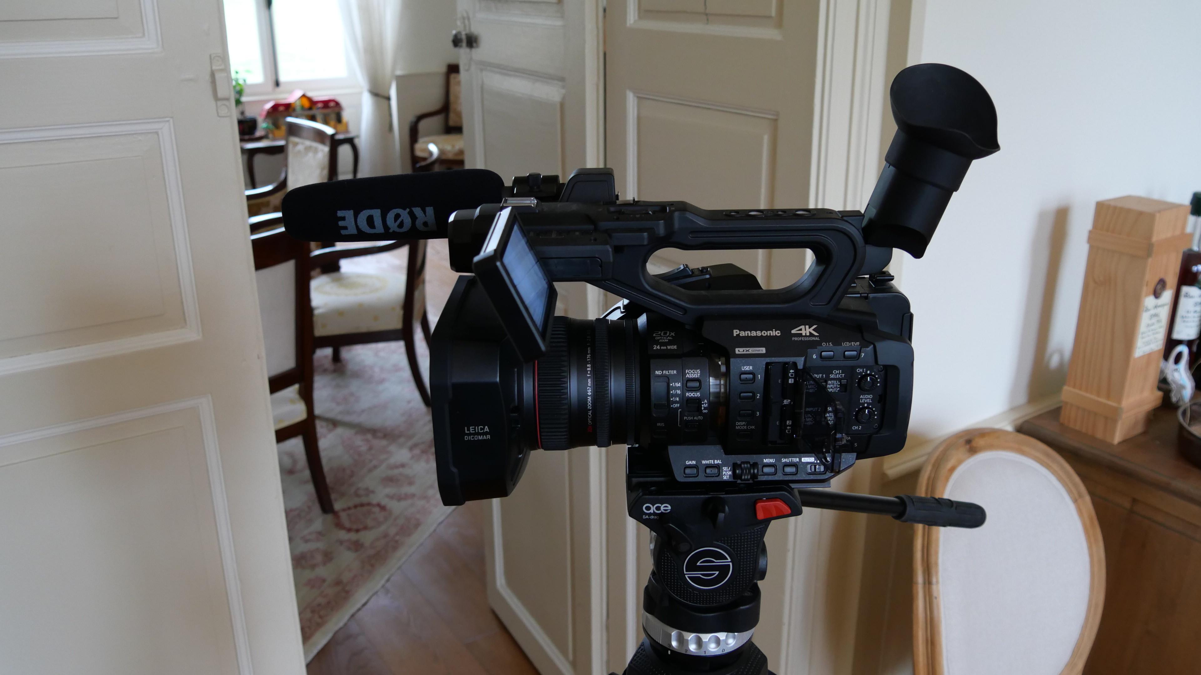 Caméra 4K Panasonic AG-UX 180