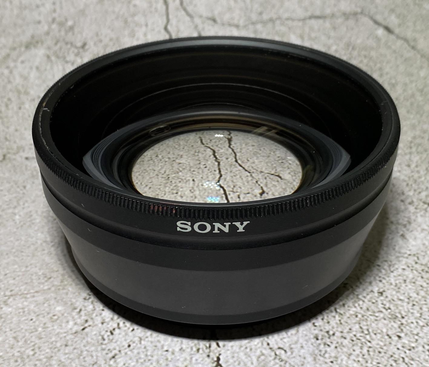 Convertisseur SONY VCL-HG0872 pour HDR-FX1 / HVR-Z1