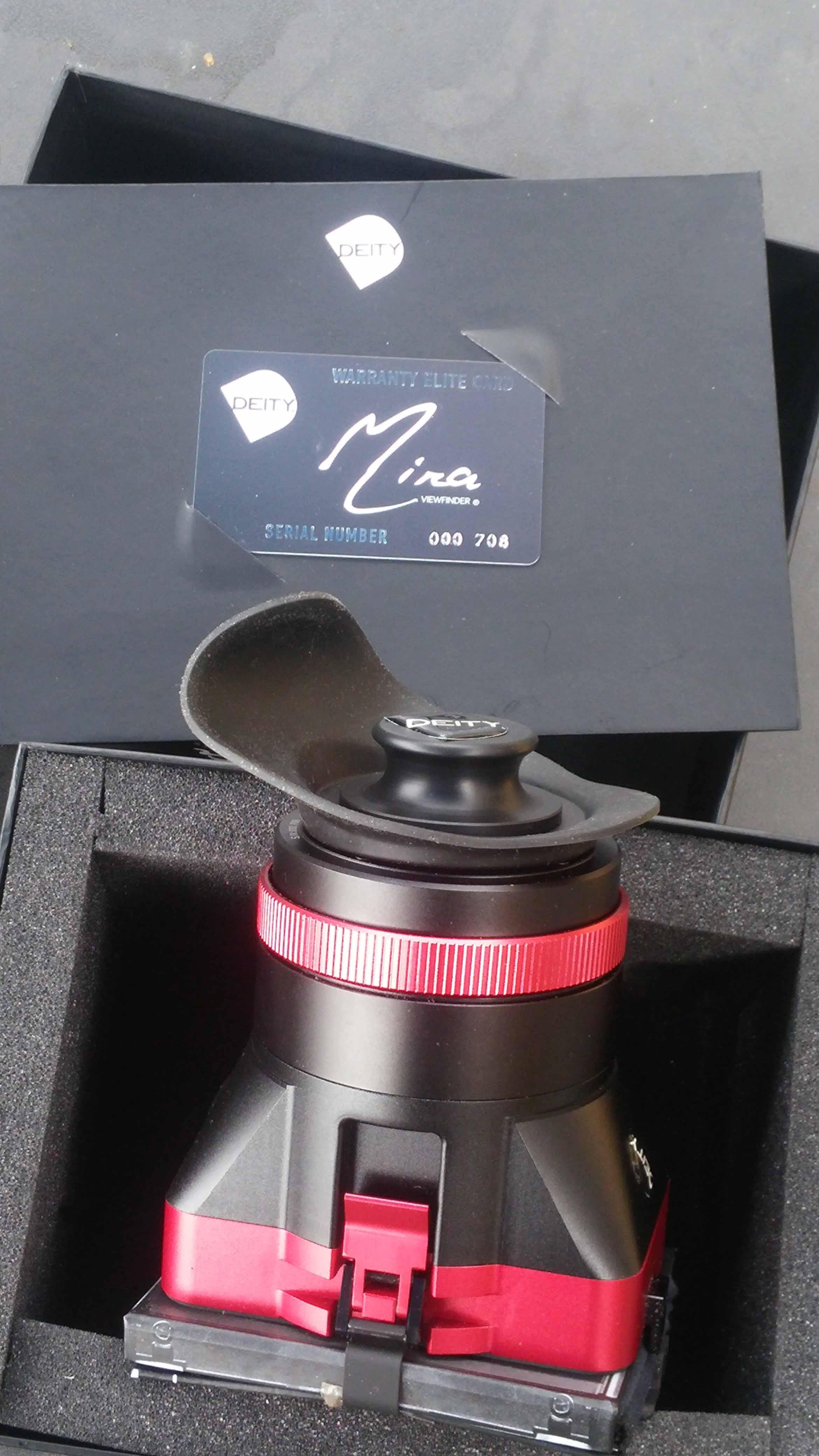 viseur deity pour canon C300 C 500