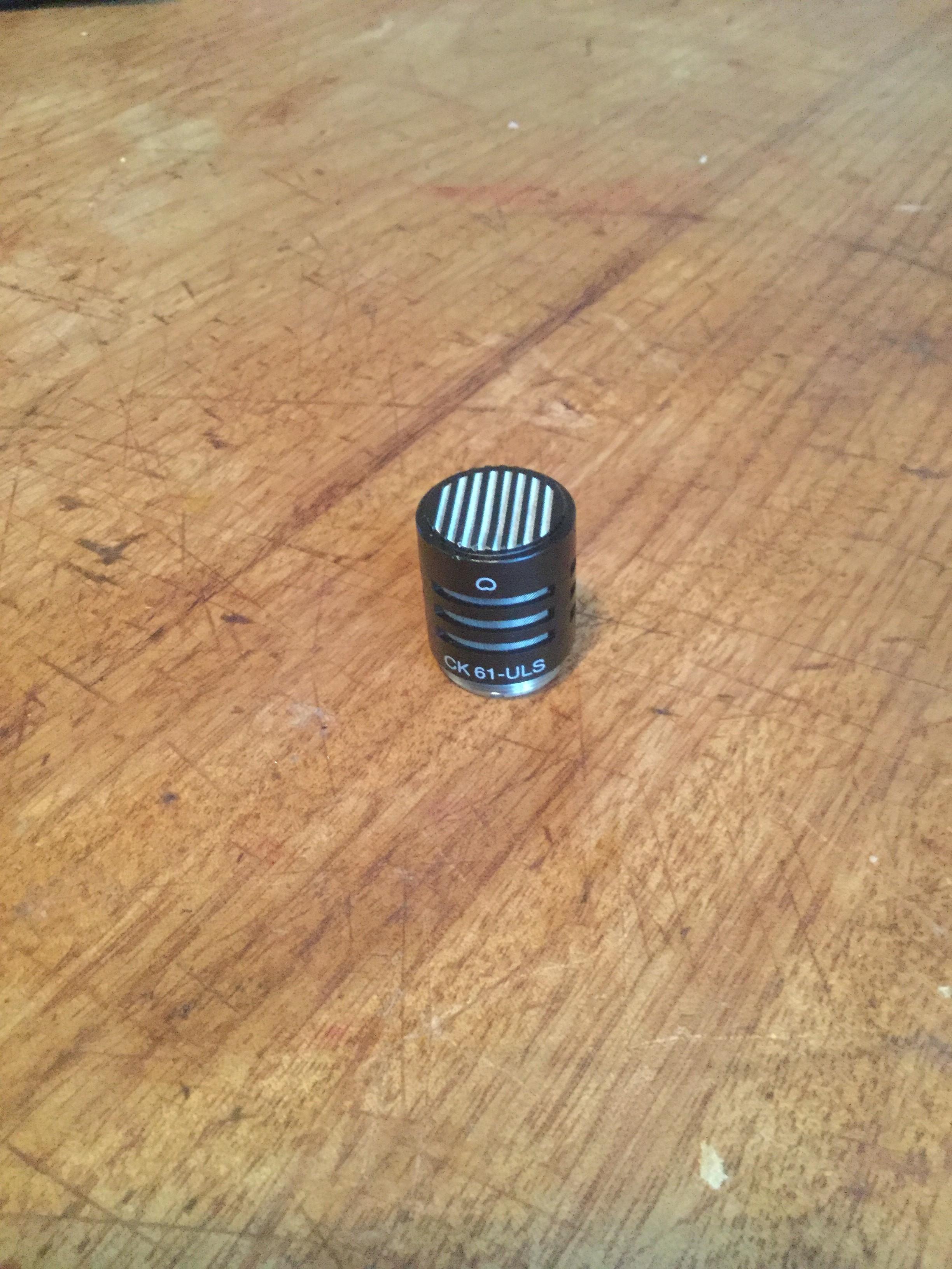 micro akg ck480b et capsule ck62 uls