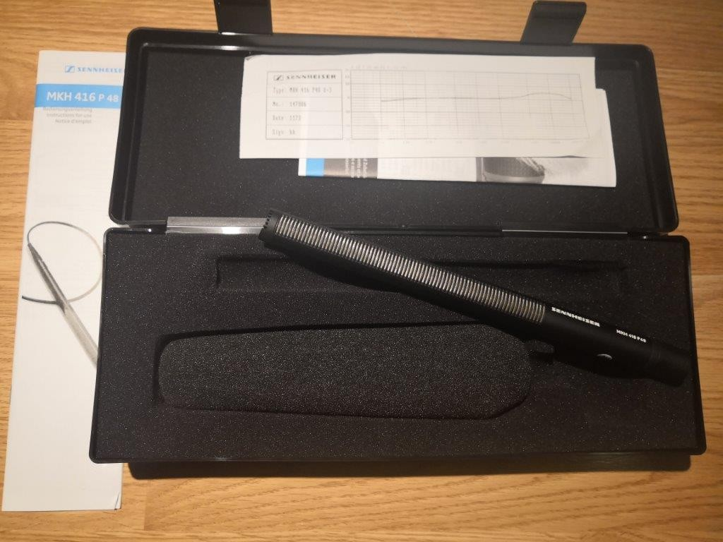 Micro Sennheiser MKH416 P 48 U