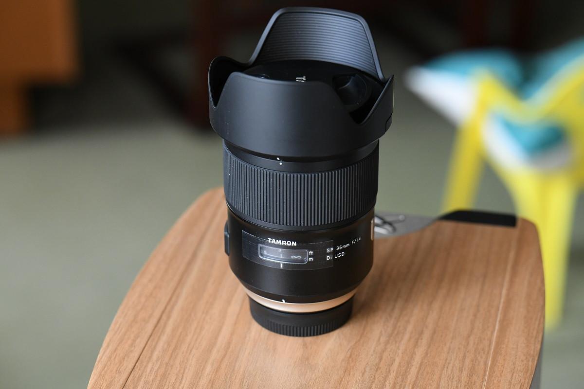 Tamron 35mm F1.4 objectif fixe pour Nikon full frame