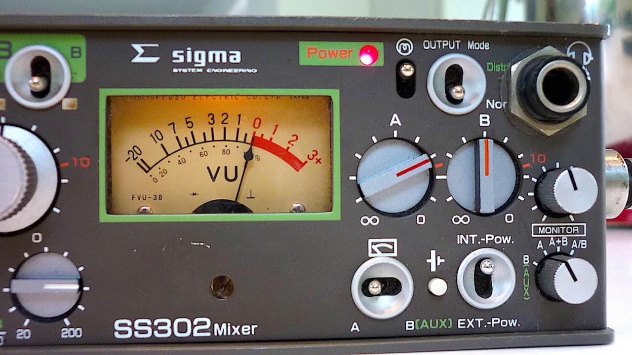 Mixer Mélangeur portable, mixette Sony - Sigma SS302