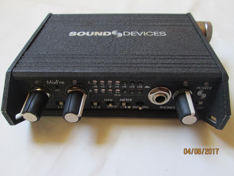 mixette mixpré sound devices