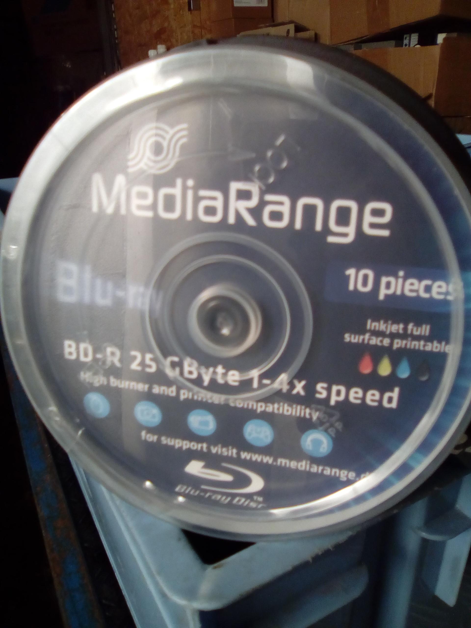 DVD enregistrable BluRay printable