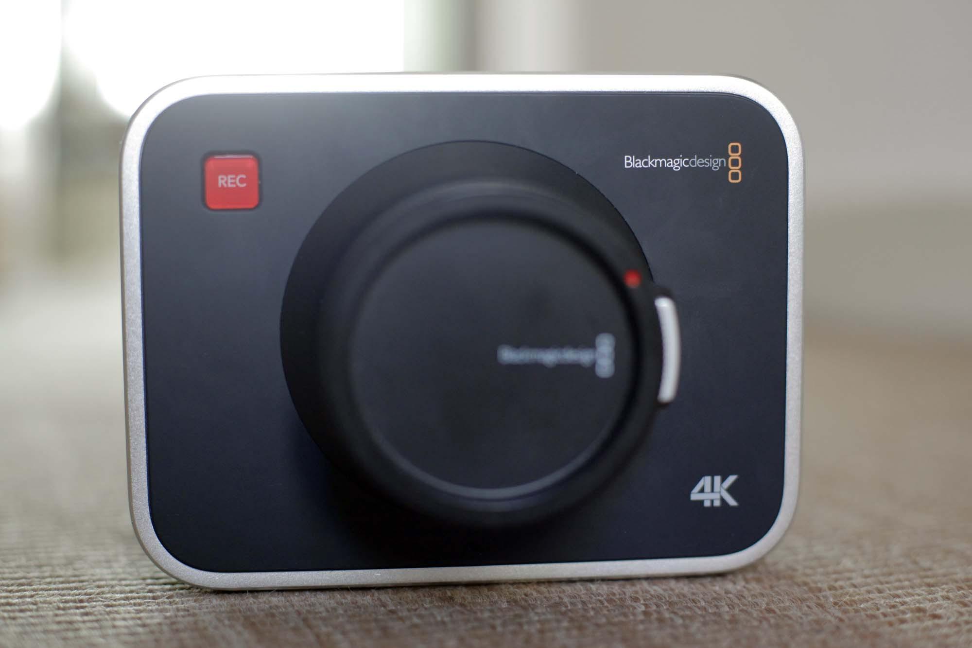 Caméra Blackmagic Cinema Production 4K