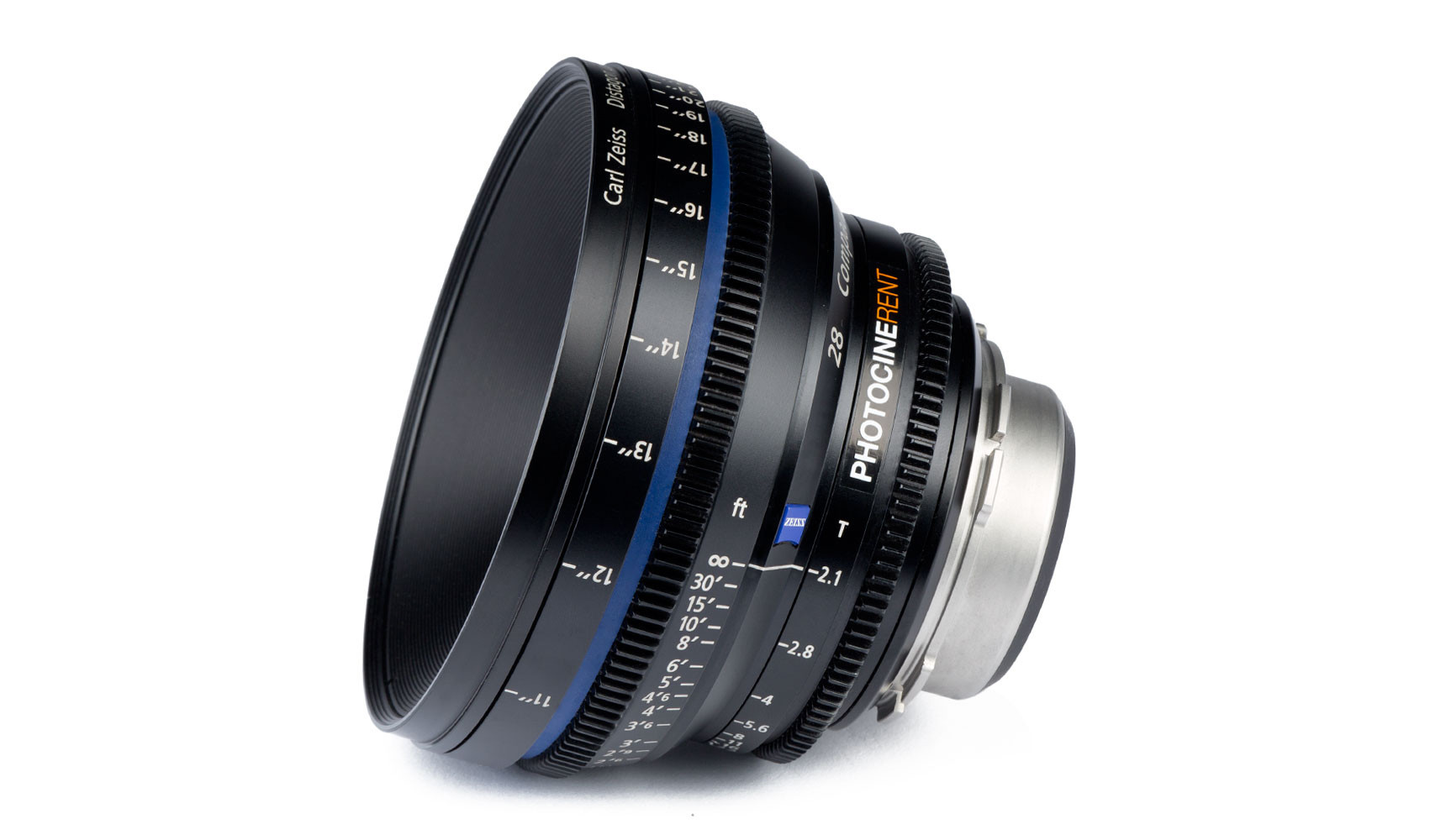 Optique cinéma Zeiss Cp 28mm t2.a