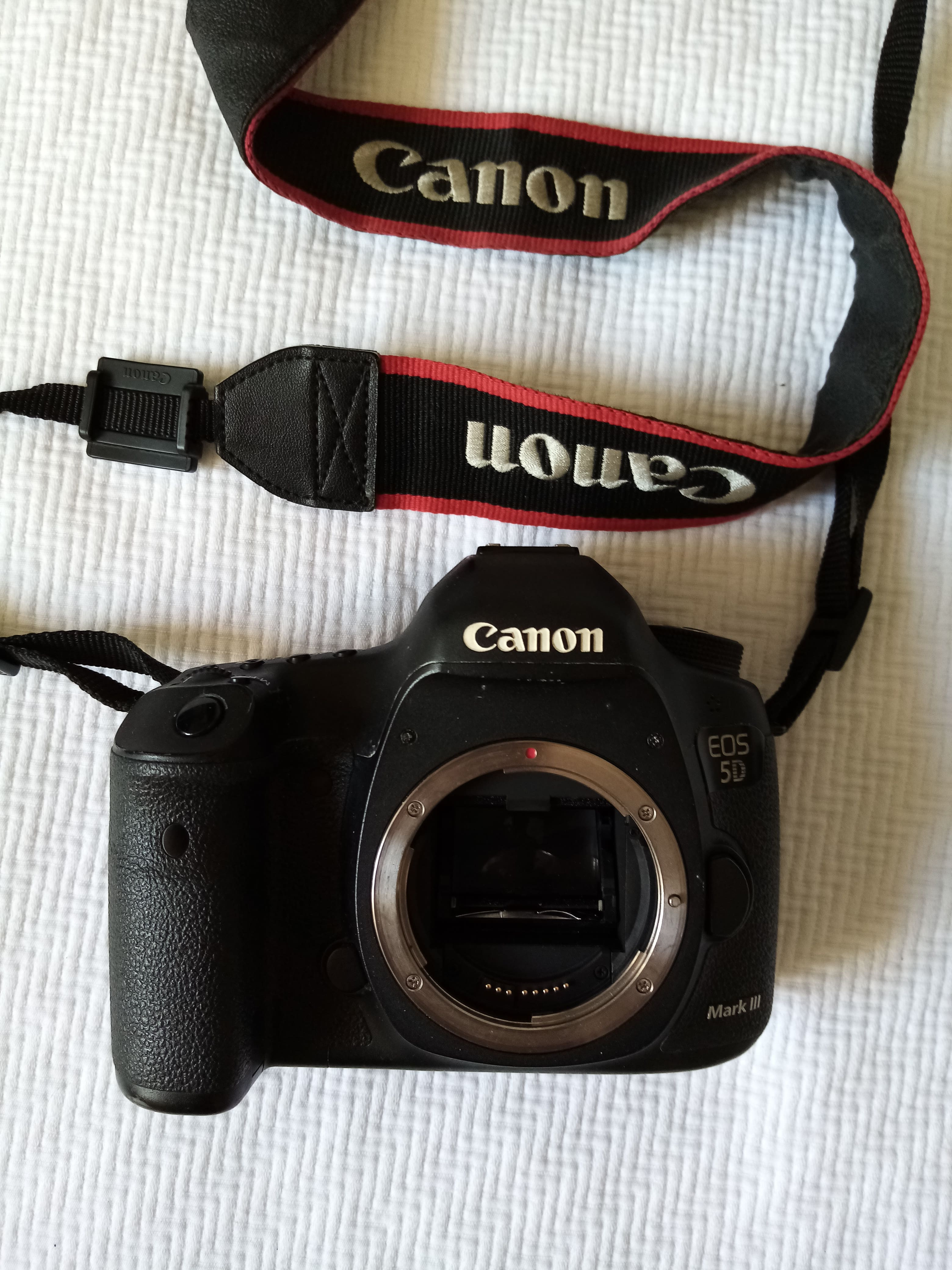 Canon 5D Mark III + Magic Lantern