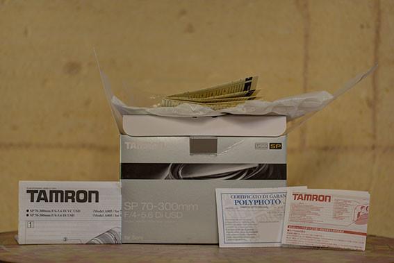 Téléobjectif TAMRON SP 70-300mm F/4-5.6 Di USD monture SONY A