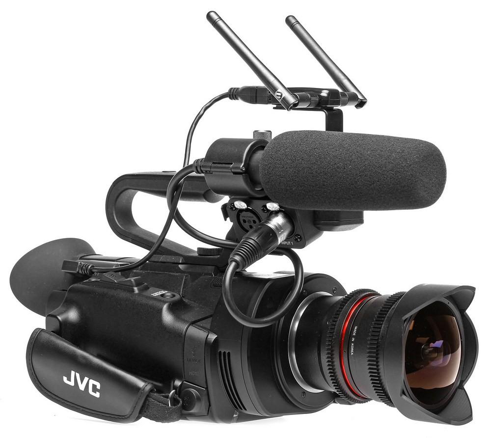 JVC GY-LS300 + équipement wifi