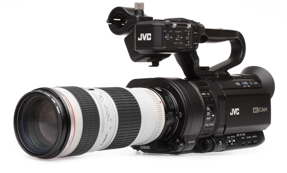 JVC GY-LS300 avec zoom Canon