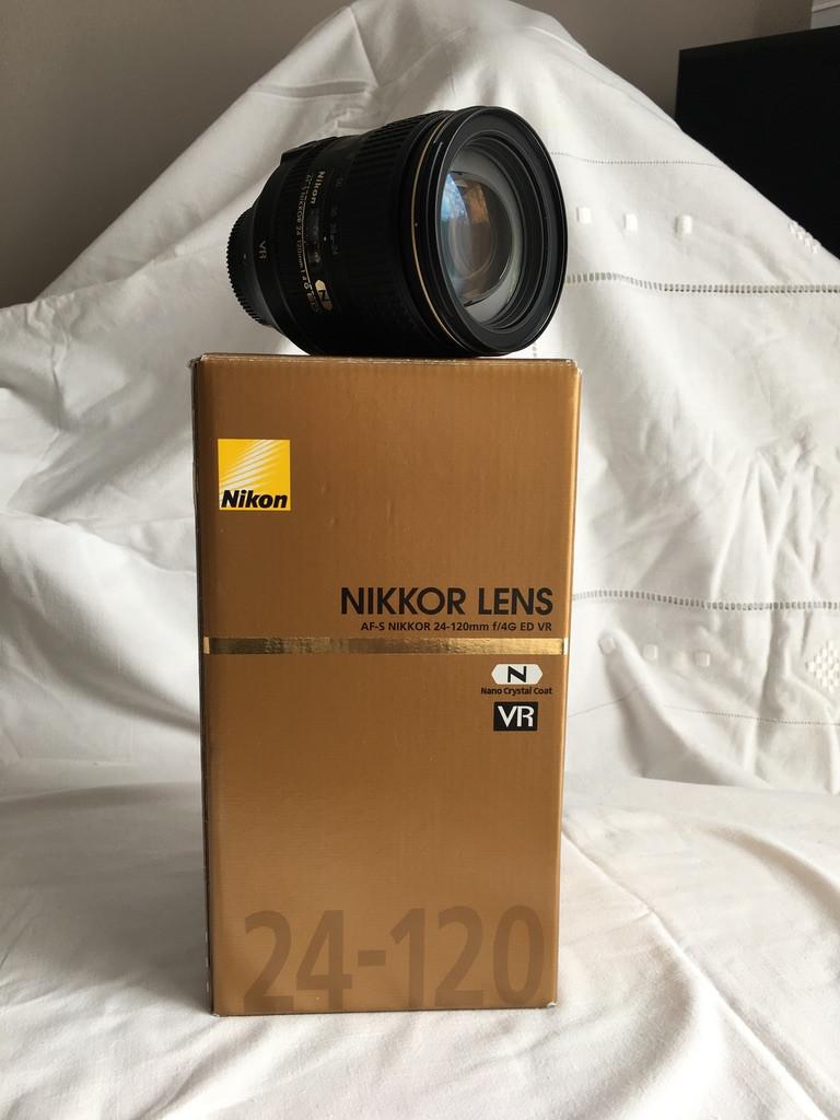 Objectif Nikon 24-120mm f/4