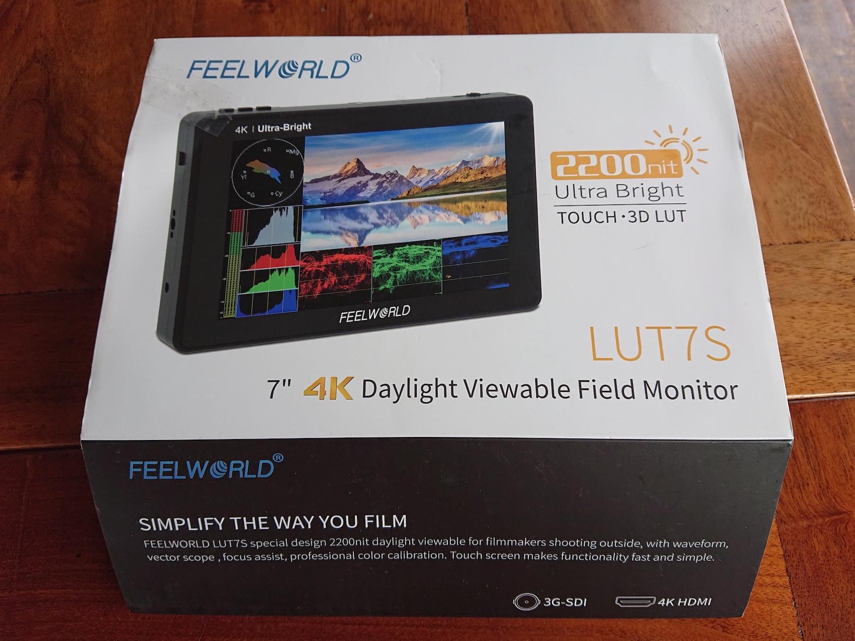 Moniteur vidéo Feelworld LUT7s état neuf