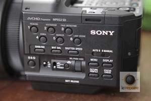Sony Nex-FS700 latéral