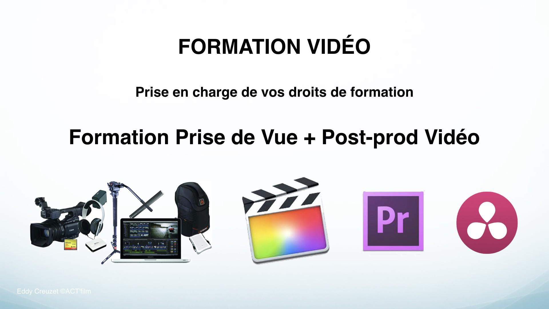Eddy Creuzet Formateur Montage Vidéo