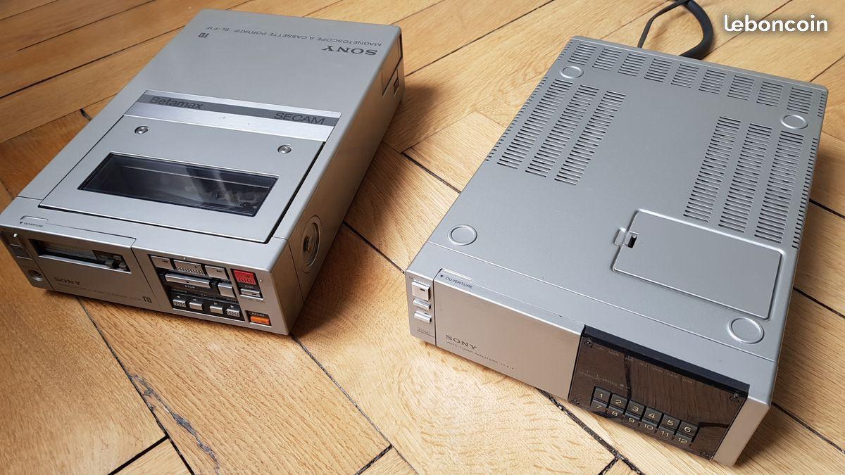 SONY TRINITRON magnétoscope portable Magnétoscope JVC-PATHE VKE 312