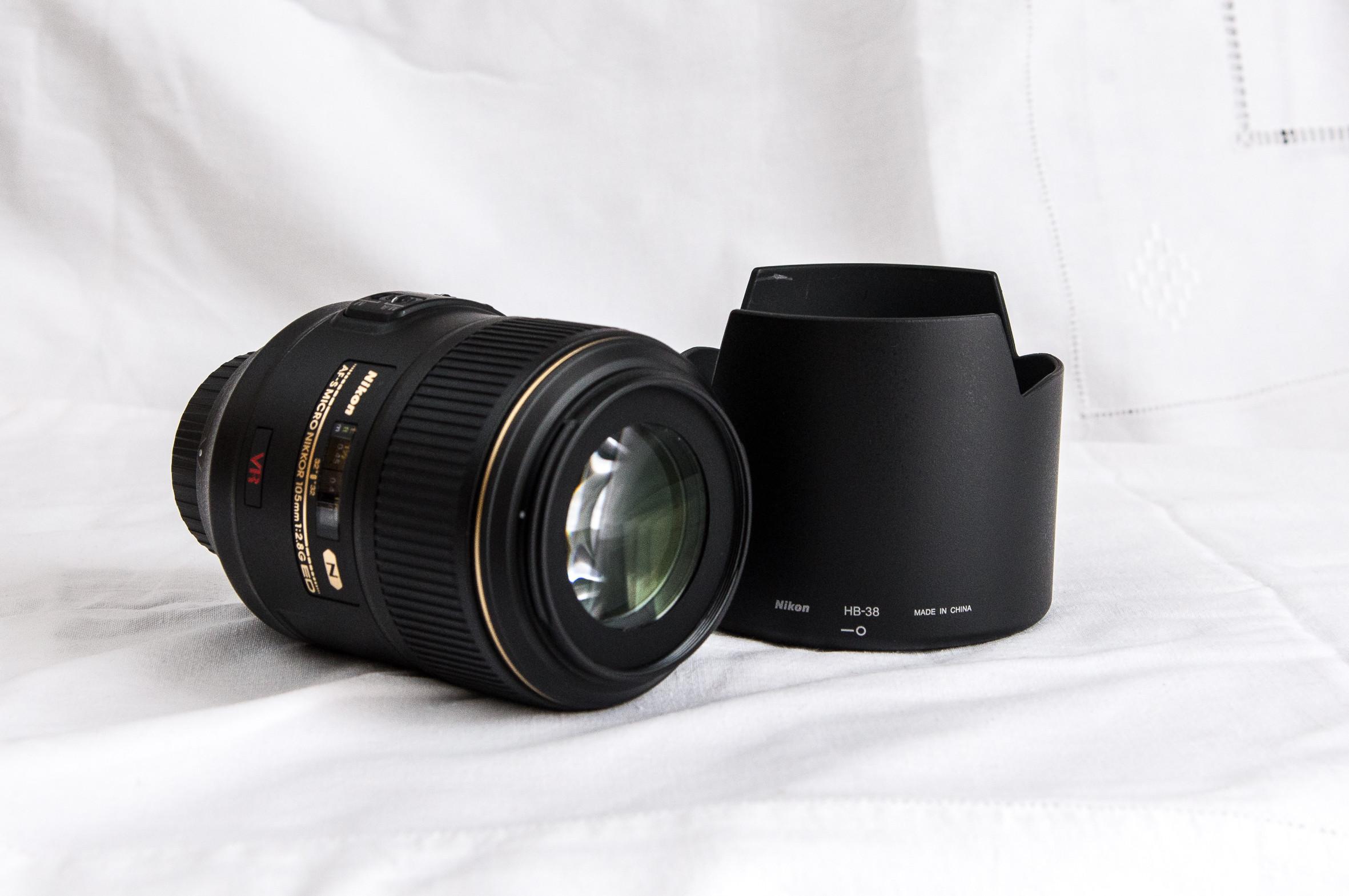 Objectif Nikon 105mm F2.8