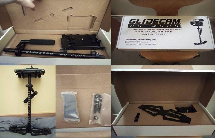 Glidecam HD 4000 + adaptateur plateau rapide (neuf)