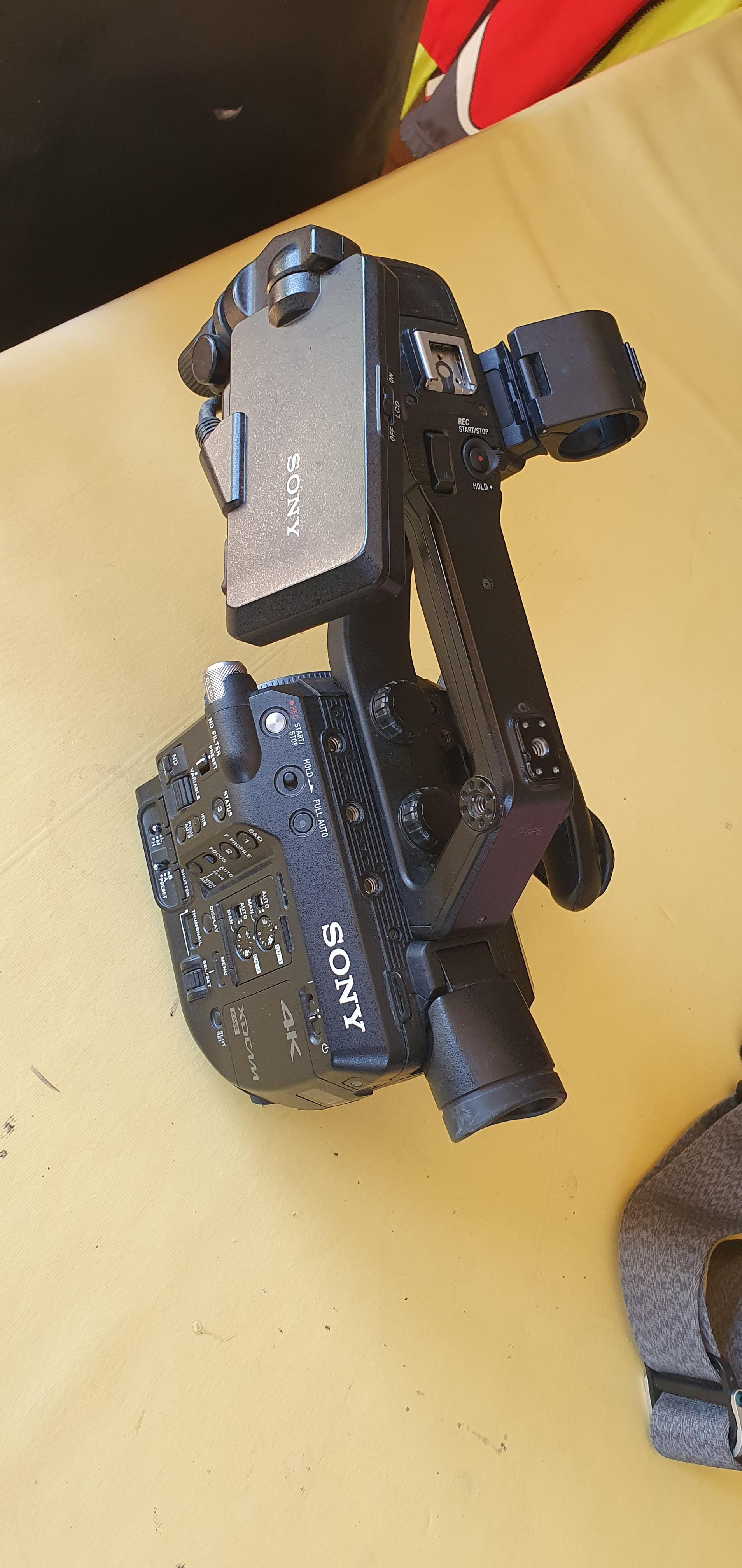 Caméra 4K sony FS5 MK1