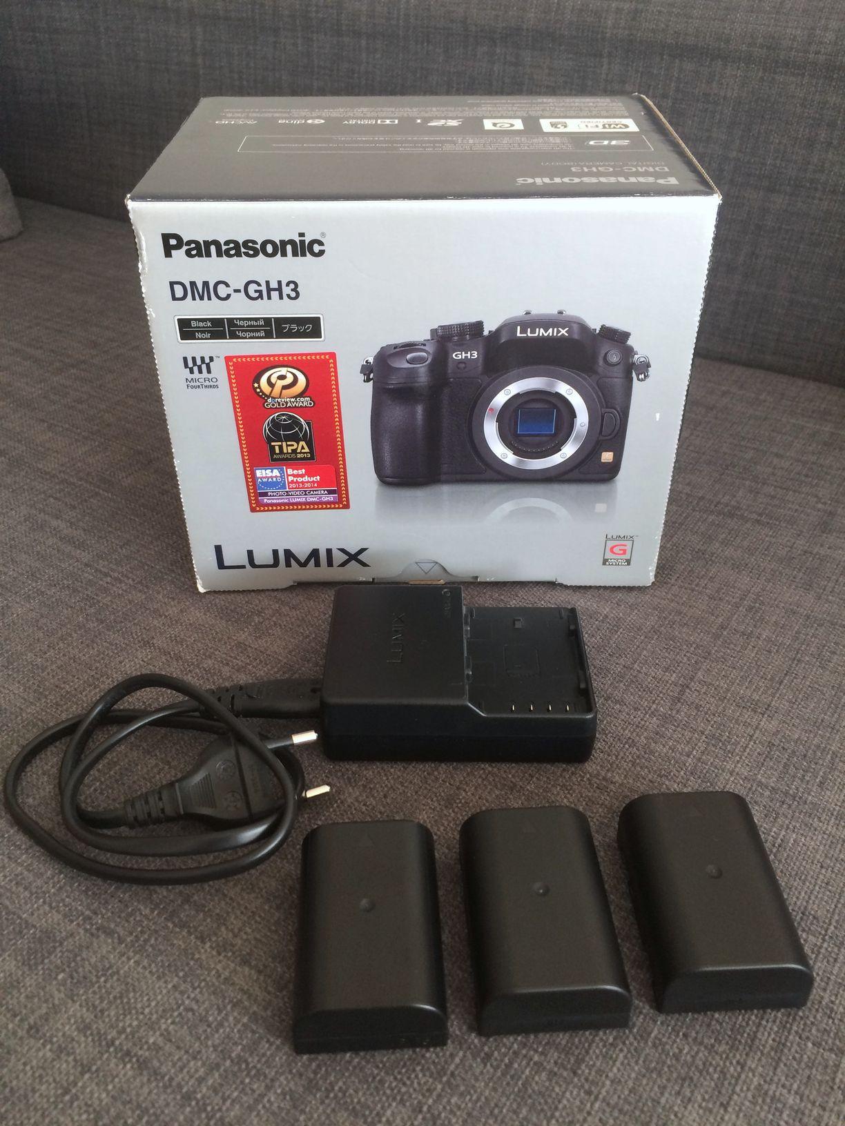 PANASONIC Lumix DMC-GH3 Boitier Nu Noir