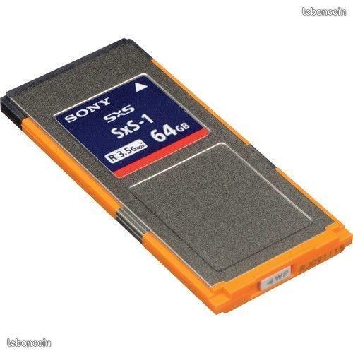 CARTES SONY SxS Pro+ 128GB /  SONY SxS-1 64GB