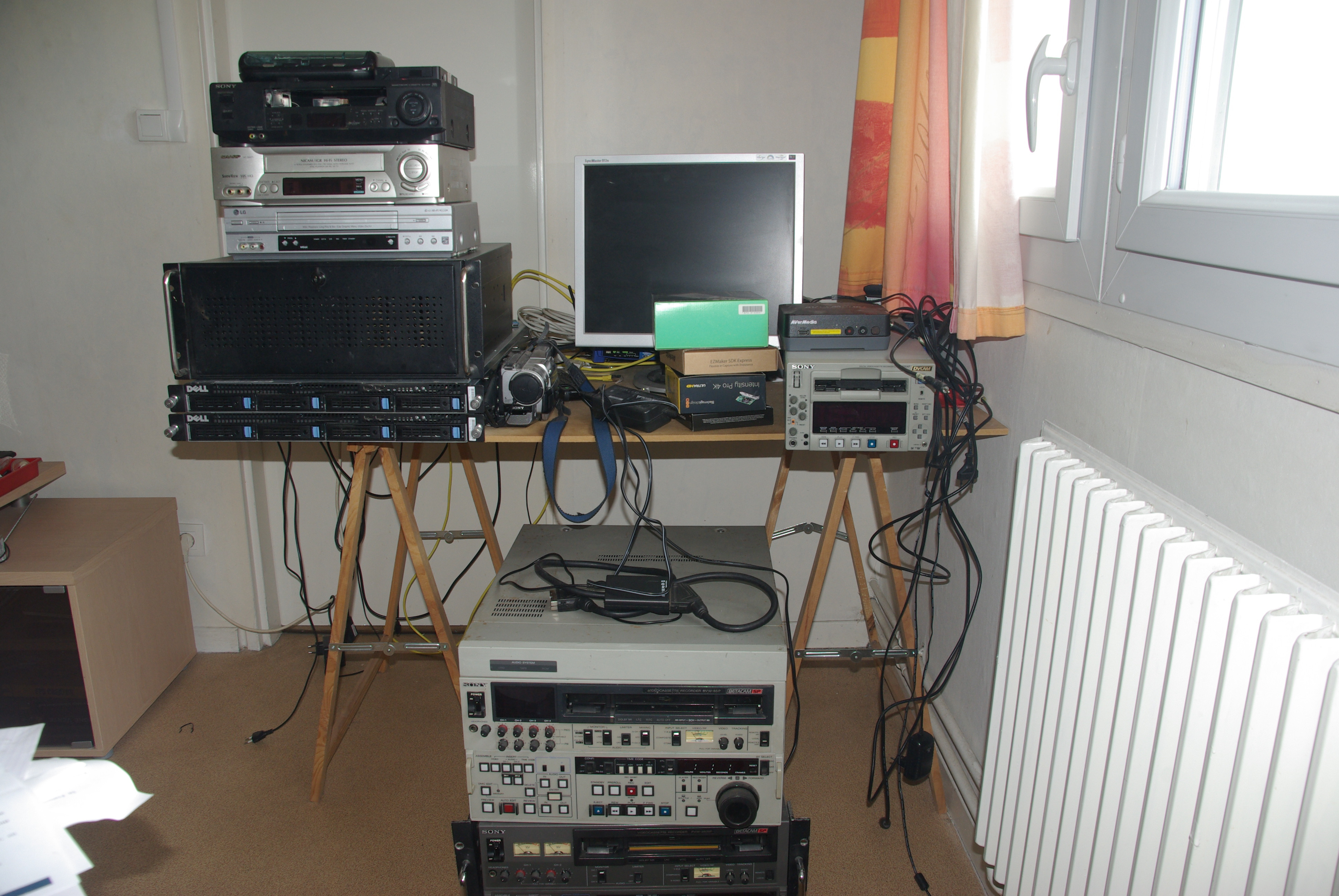 matériel de numérisation vidéo