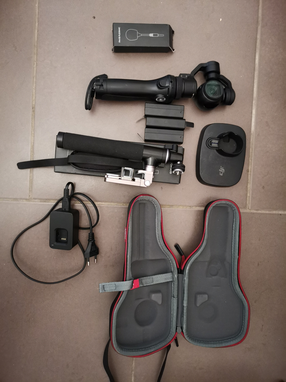 Camera DJI OSMO 4K FULL HD et ses accessoires
