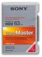 Cassettes HDV SONY 63 min