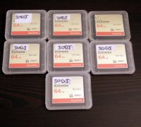 7x carte CF 64GB 120Mb/s UDMA 7 Class 20