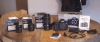 Canon 5D MIII + 3 optiques Canon EF + accessoires