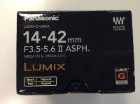 Objectif Panasonic 14-42 mm F3.5-5.62 ASPH