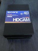 Cassettes HDCam Vierges