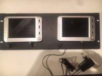 2 moniteurs LCD couleur 5,7 pouces