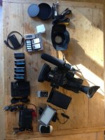 Camescope SONY PMW200 et accessoires