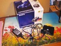 camescope SONY HDR-SR11E
