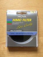 Filtre UV Hoya ND8 72 mm