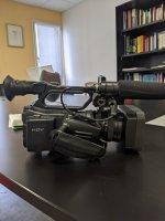 Caméra SONY HDV VCL 412bwh