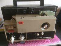 Projecteur Elmo Super 8 SONORE