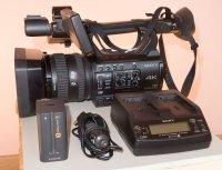 Camera Sony PXW-Z150 avec chargeur 220/12V