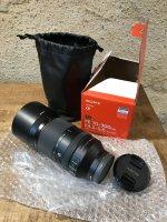 Objectif hybride Sony FE 70-300 mm F4.5-5.6 G OSS Noir