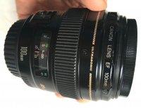 Objectif CANON EF 100 mm f/2 Ultrasonic