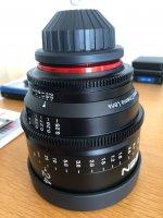 Objectif cinema XEEN 24MM F1.5 PL