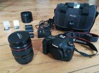 Canon 7D et zoom canon 24-70 série L