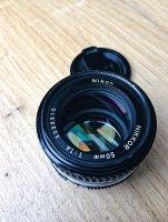 Objectif Nikon NIKKOR AIS 50mm f/1.4