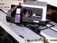 Projecteur diapositive Prestinox 725 AF  Télécommande